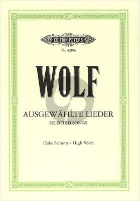 Wolf 51 Ausgewahlte Lieder (Hoch) (Elena Gerhardt)