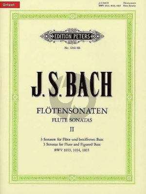 Bach J.S. Sonaten Vol.2 (No.4-6) (Urtext) (Hampe/Eberth)