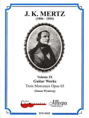 Mertz Works Vol.9 3 Morceaux Opus 65 Guitar (Simon Wynberg)
