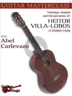 Carlevaro Masterclass Vol.3 Villa Lobos 12 Studies