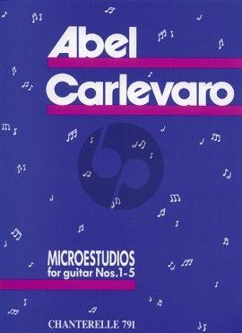 Carlevaro Microestudios No.1 - 5 / 7 Preliminary Studies