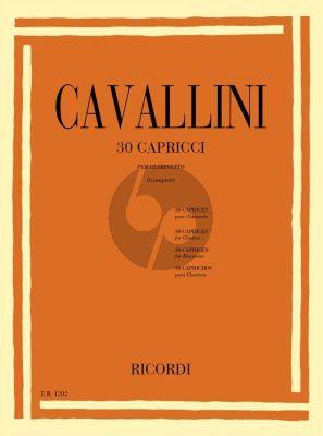 Cavallini 30 Caprices Clarinet