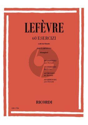 Lefevre 60 Esercizi (Scelti dal Metodo) Clarinette (Alamiro Giampieri)
