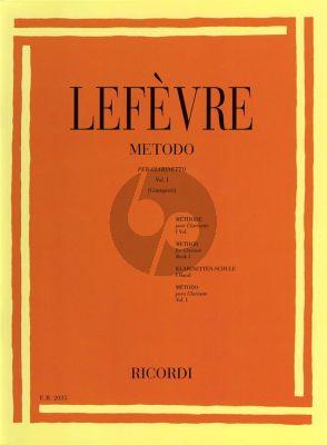 Lefevre Metodo per Clarinetto Vol.1 (Alamiro Giampieri)