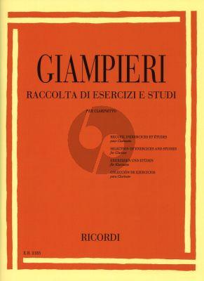 Giampieri Selection of Exercises and Studies for Clarinet (Raccolta di Esercizi)