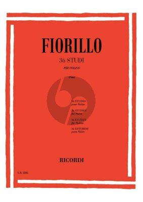 Fiorillo 36 Studies Violino (Enrico Polo)