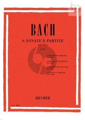 6 Sonatas & Partitas Viola