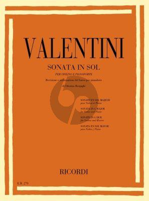 Sonata G-major Violin-Piano