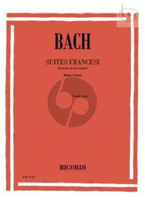 French Suites (BWV 812-817) Piano