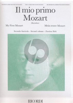 My First Mozart Vol.2 (Il Mio Primo Mozart) Piano