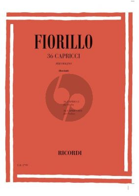 Fiorillo 36 Studies (Caprices) (Borciani)