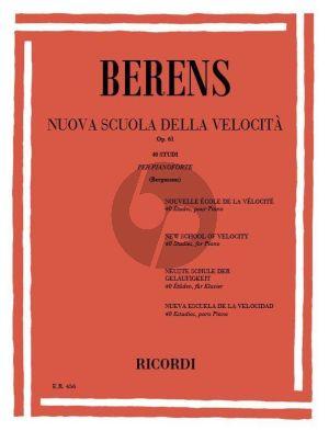 Berens New School of Velocity Op.61 Piano