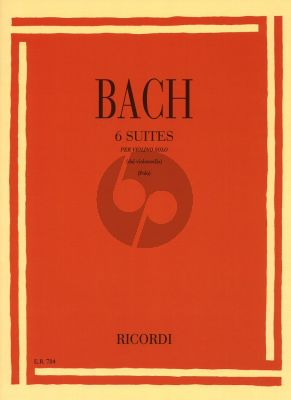 Bach 6 Suites arr. for Violin (Polo)