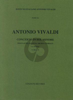 Vivaldi  Concerto g minor F.XII n.5 La Notte