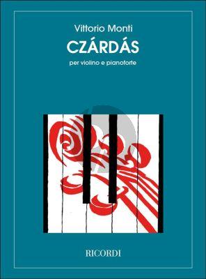Monti Czardas Violin and Piano (Ricordi)