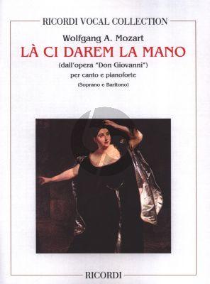 Mozart La Ci Darem la Mano from Don Giovanni 2 Voices (Soprano Bariton) and Piano