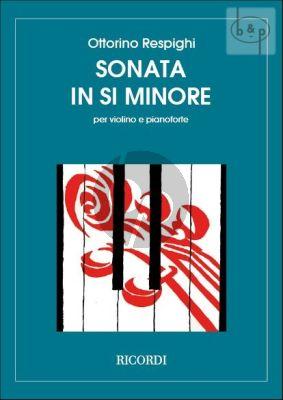 Sonata B-flat minor Violin-Piano