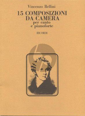 Bellini 15 Composizioni da Camera per Canto e Pianoforte
