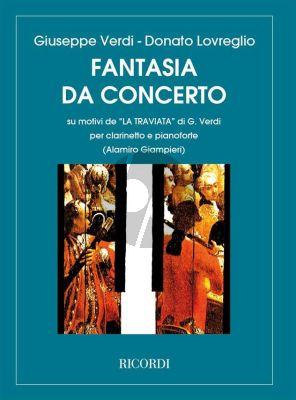"""Loivreglio Fantasia da Concerto su motivi """"La Traviata"""" di G.Verdi Clarinet and Piano (Alamiro Giampieri)"""