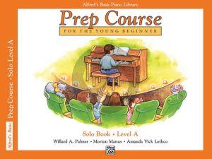 Alfred Prep Course Solo Book Level A