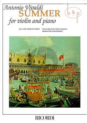 Concerto Op.8 No.2 RV 315 g-minor