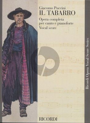 Il Tabarro Vocal Score