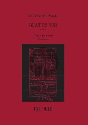 Vivaldi Beatus Vir RV 597 Vocalscore