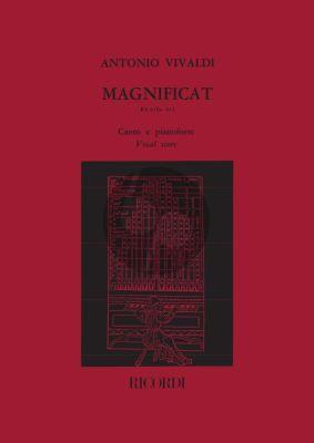 Magnificat RV 610a- 611 SSAT soli-SATB/SATB-Piano Vocal Score
