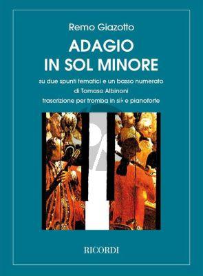 Albinoni Adagio G-Minor Trumpet and Piano