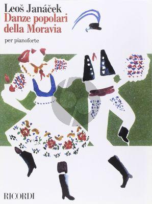 Janacek Danze Popolari della Moravia (Popular Dances from Moravia) Piano
