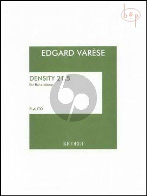 Varese Density 21.5 Flute solo