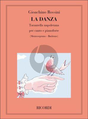 Rossini La Danza (Tarantella Napoletana) (Mezzo-Soprano or Baritone)