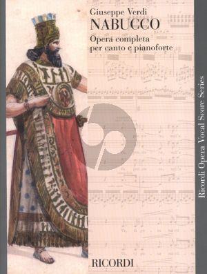 Verdi Nabucco Vocal Score (it.)