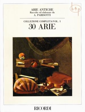 Arie Antiche Vol.1 for Medium Voice and Piano