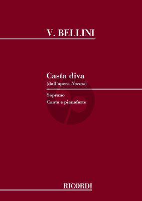 Bellini Casta Diva Soprano and Piano (Norma)