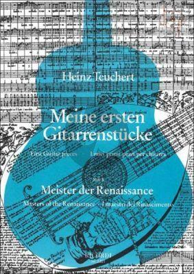 Meine Erste Gitarrenstucke Vol.3 Meister der Renaissance
