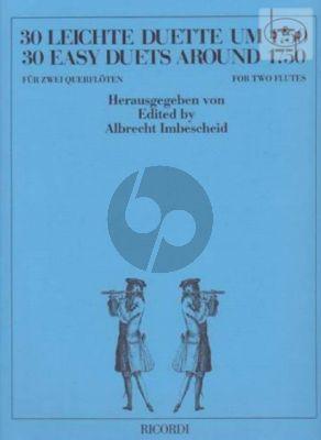30 Leichte Duette um 1750