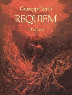 Verdi Requiem Soli-Choir-Orch. Full Score
