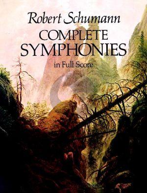 Schumann Symphonies Complete Full Score (Dover)