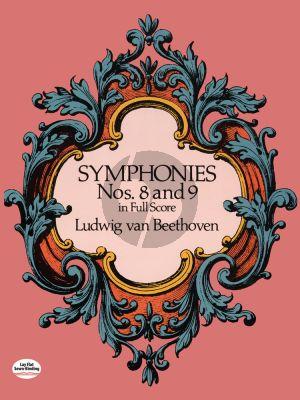 Symphonies No.8-9