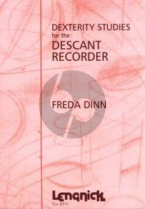 Dinn Dexterity Studies for the Descant Recorder