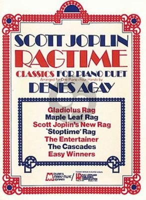 Joplin Ragtime Classics piano 4 hds