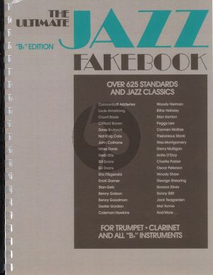 Ultimate Jazz fake book Bb Edition