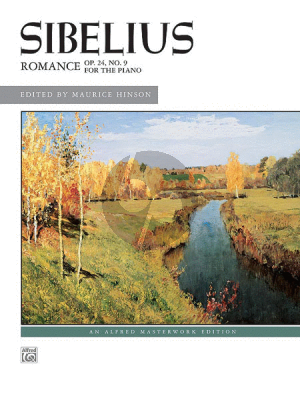 Sibelius Romance D-flat major Op.24 No.9 Piano solo (edited by Maurice Hinson))