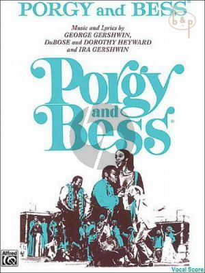 Gershwin Porgy & Bess Vocal Score