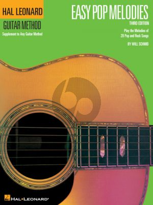 Easy Pop Melodies for Guitar (Book)