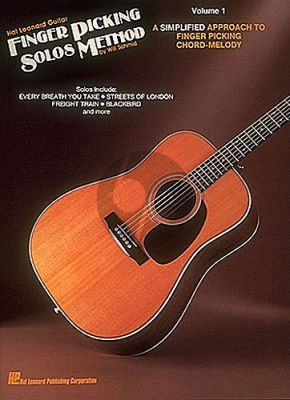 Schmid Finger Picking Solos Method Vol.1 Guitar