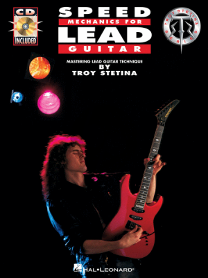 Stetina Speed Mechanics for Lead Guitar (Bk-Cd)