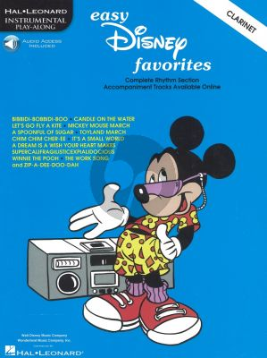 Easy Disney Favorites (Clarinet) (Bk-Audio Access Code)