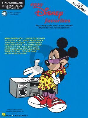Easy Disney Favorites (Alto Sax.)